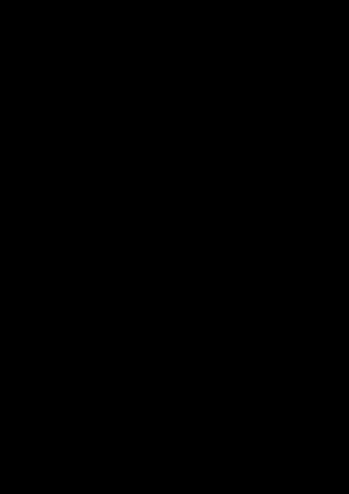 ausgefüllte Blätter Druckvorlage für Laterne