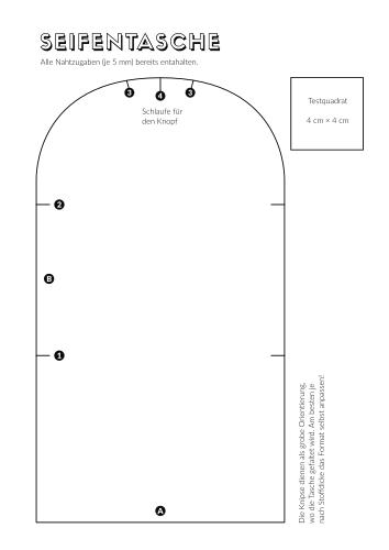 PDF Vorschaubild Seifentasche Nähanleitung
